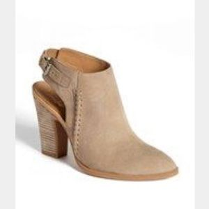 Franco Sarto Tan Leather Booties